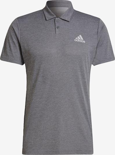 ADIDAS PERFORMANCE Sportshirt in grau / weiß, Produktansicht