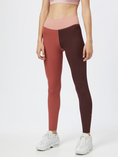 NIKE Sportovní kalhoty - růžová / pitaya / burgundská červeň, Model/ka