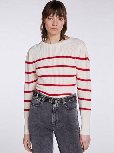 SET Jersey en rojo / blanco, Vista del modelo