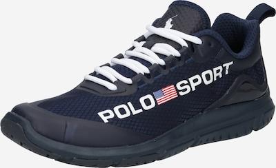 POLO RALPH LAUREN Sneaker low 'TECH RACER' i navy / rød / hvid, Produktvisning