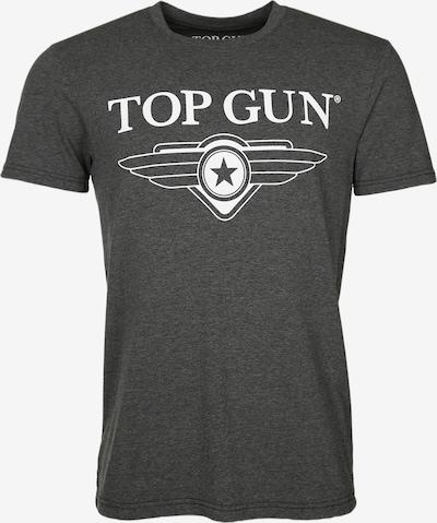 TOP GUN T-Shirt in dunkelgrau, Produktansicht