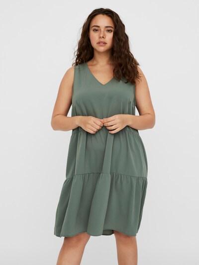Vero Moda Curve Šaty 'VMOLIVIA' - zelená, Model/ka