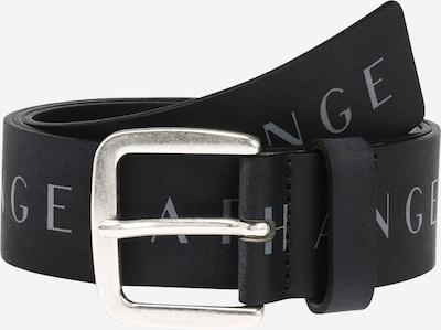 ARMANI EXCHANGE Gürtel 'Tongue' in hellgrau / schwarz, Produktansicht