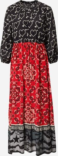 Grace Robe en rouge / noir / blanc, Vue avec produit