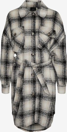 Vero Moda Curve Abrigo de entretiempo 'Luna' en beige / talco / negro, Vista del producto