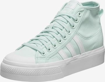 ADIDAS ORIGINALS - Zapatillas deportivas altas 'Nizza' en verde