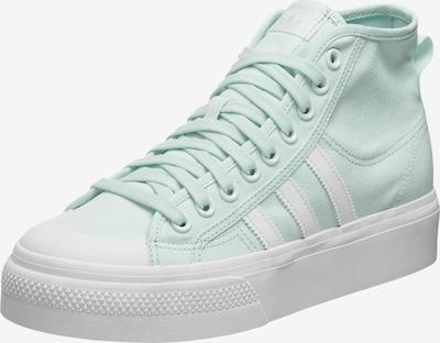 Sneaker înalt 'Nizza' ADIDAS ORIGINALS pe verde mentă / alb, Vizualizare produs