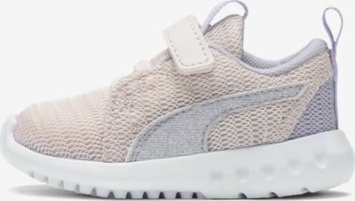PUMA Baskets 'Carson 2 Glitter V' en gris clair / rose clair / blanc, Vue avec produit