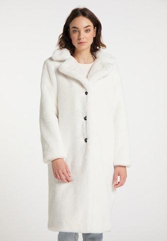 MYMO Wintermantel in Weiß