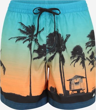 QUIKSILVER Kąpielówki sportowe 'PARADISE VOLLEY' w kolorze niebieski / pomarańczowy / czarnym, Podgląd produktu