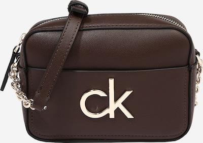 Fotoaparato dėklas iš Calvin Klein , spalva - tamsiai ruda / Auksas, Prekių apžvalga
