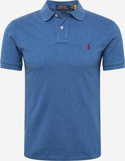 POLO RALPH LAUREN Shirt in royalblau / rot, Produktansicht
