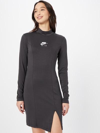 Nike Sportswear Jurk in de kleur Zwart / Wit, Modelweergave