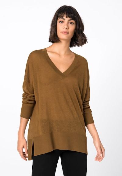 HALLHUBER Pullover in braun, Modelansicht