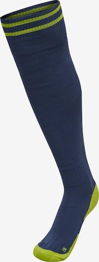 Hummel Athletic Socks 'ELEMENT' in Dark blue / Yellow, Item view