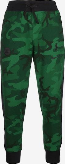 NIKE Sportbroek in de kleur Groen / Zwart, Productweergave