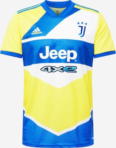 ADIDAS PERFORMANCE T-Shirt fonctionnel en bleu roi / jaune / blanc, Vue avec produit