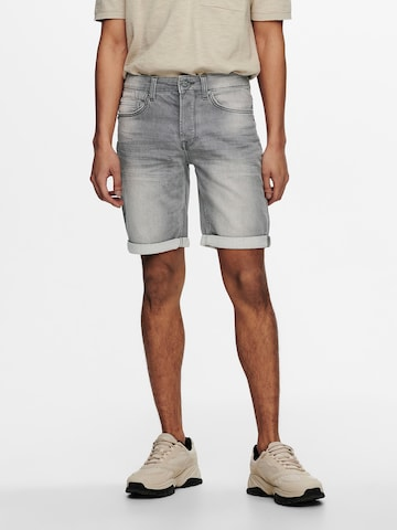 Only & Sons Jeans 'PLY' i grå