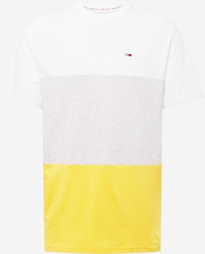Tricou Tommy Jeans pe galben / gri amestecat / alb, Vizualizare produs