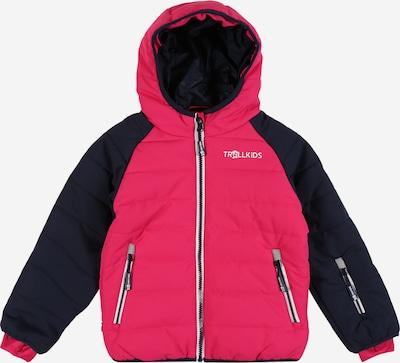 TROLLKIDS Jacke 'Hafjell Snow' in navy / pink, Produktansicht