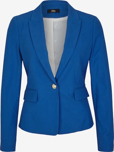 s.Oliver BLACK LABEL Blazers in de kleur Blauw, Productweergave
