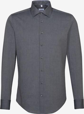 SEIDENSTICKER Business Shirt in Grey