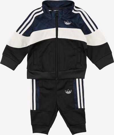 ADIDAS ORIGINALS Sportanzug in blau / schwarz / weiß, Produktansicht