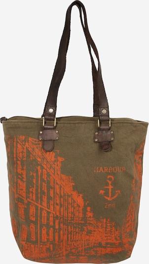 Shopper 'Pauli' Harbour 2nd di colore cachi / arancione scuro, Visualizzazione prodotti