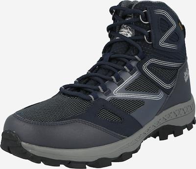 JACK WOLFSKIN Boots 'DOWNHILL' in de kleur Donkerblauw / Grijs / Wit, Productweergave