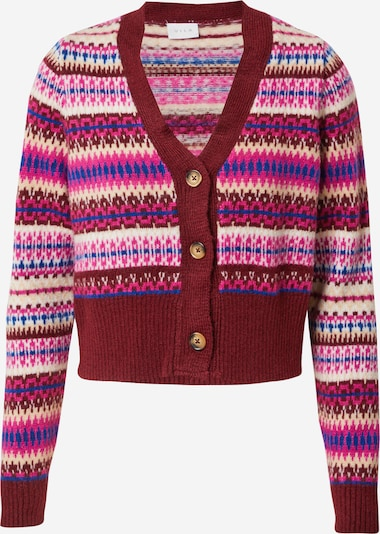 VILA Knit Cardigan 'Mastral' in Beige / Royal blue / Pink / Wine red / White, Item view