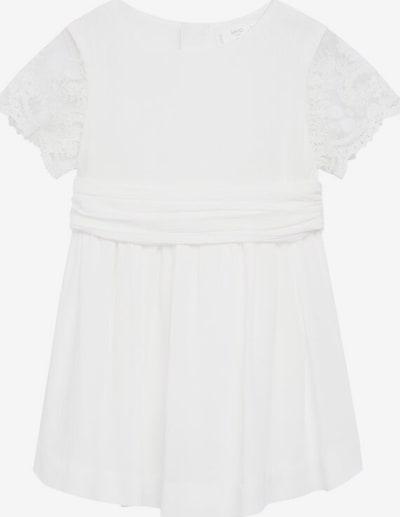 MANGO KIDS Kleid in weißmeliert, Produktansicht