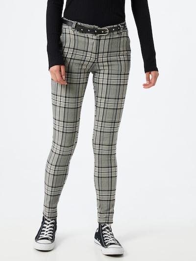 Pantaloni 'Mandy' Hailys di colore grigio / nero, Visualizzazione modelli