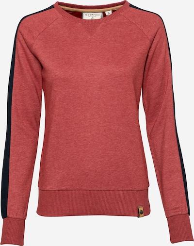 Fli Papigu Sweatshirt 'Mary Jane Hase' in rotmeliert, Produktansicht