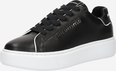 Karl Lagerfeld Baskets basses 'MAXI KUP' en noir / blanc, Vue avec produit