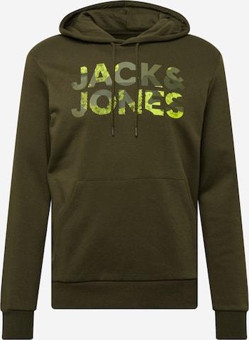 JACK & JONES Dressipluus 'SOLDIER', värv roheline