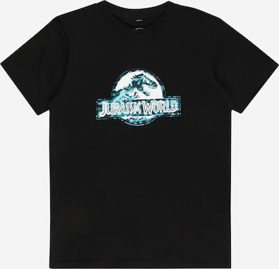 Mister Tee T-Shirt 'Jurassic World' en bleu clair / noir / blanc, Vue avec produit