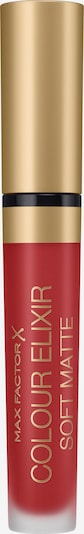 MAX FACTOR Lippenstift 'Colour Elixir Soft Matte' in rot, Produktansicht