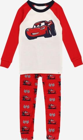 Pijamale de la GAP pe roșu