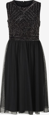 Rochie de la heine pe negru