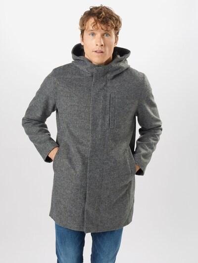 JACK & JONES Manteau mi-saison 'JJGeorge' en gris chiné, Vue avec modèle