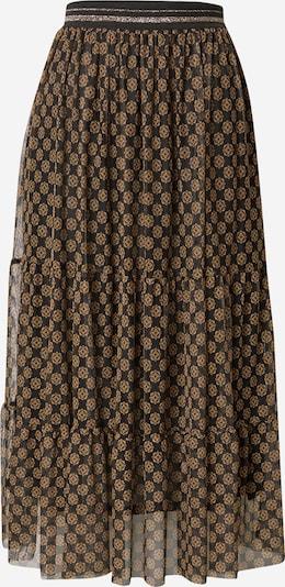 Rich & Royal Jupe en mélange de couleurs / noir, Vue avec produit