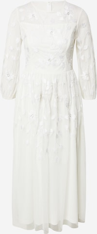 LACE & BEADS Evening dress 'Ellie' in White