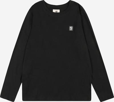 Tricou GARCIA pe negru / alb, Vizualizare produs