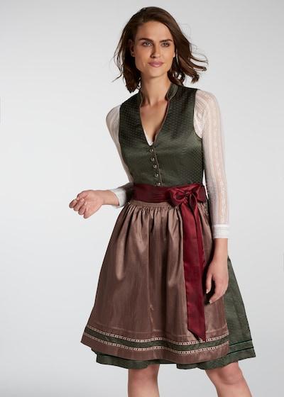 """SPIETH & WENSKY Dirndl """"Pia"""" midi in grün, Modelansicht"""