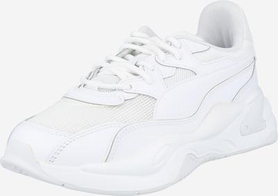 PUMA Baskets basses en blanc, Vue avec produit