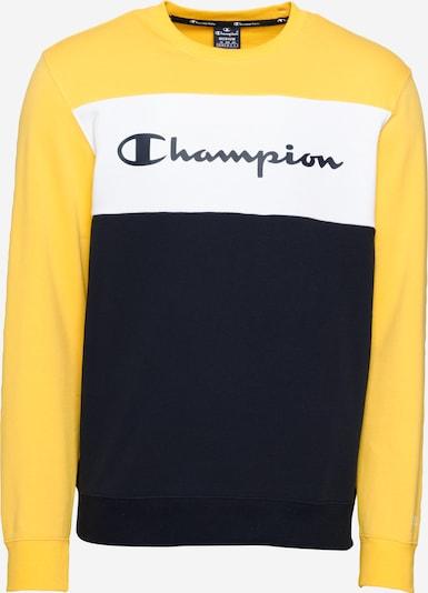 Champion Authentic Athletic Apparel Mikina - námořnická modř / žlutá / bílá, Produkt
