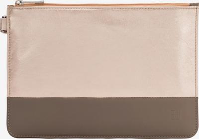 DuDu Clutch in de kleur Grijs / Pink, Productweergave