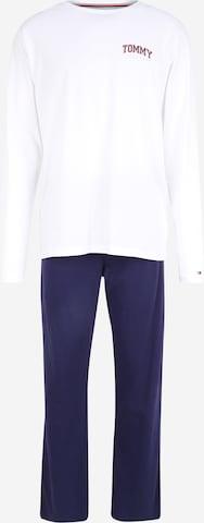 Tommy Hilfiger Underwear Дълга пижама в бяло