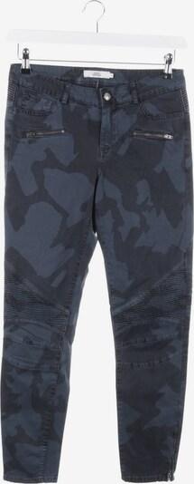 0039 Italy Bikerhose in 27-28 in dunkelblau / schwarz, Produktansicht