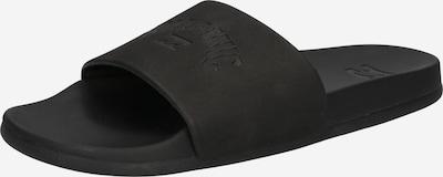 BILLABONG Claquettes / Tongs en noir, Vue avec produit